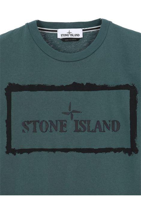 T-Shirt stampata Stone Island | T-shirt | 74152NS80V0057