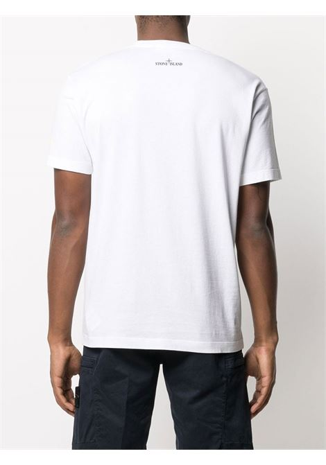 T-Shirt stampata Stone Island | T-shirt | 74152NS83V0001