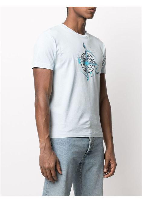 T-Shirt stampata Stone Island | T-shirt | 74152NS83V0041
