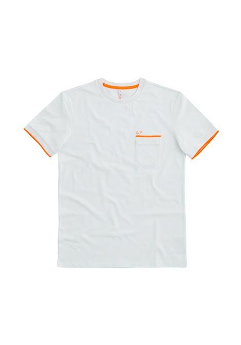 knit rib el. Sun68 | T-shirt | T3111501