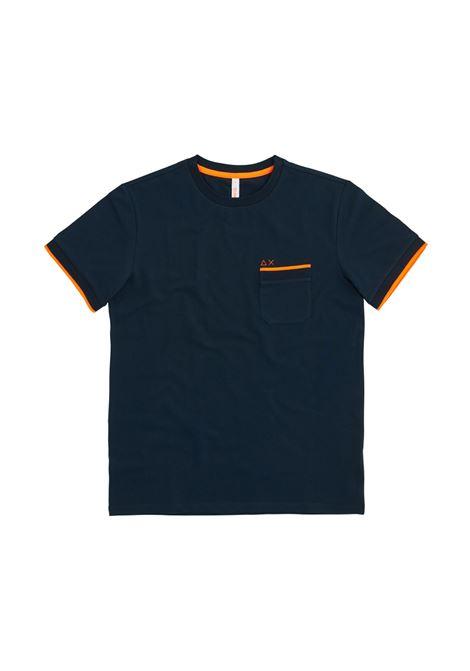 knit rib el. Sun68 | T-shirt | T3111507