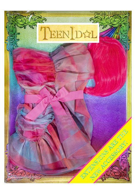 tulle t&d mini dress + parrucca Teen Idol   Abito   028624200