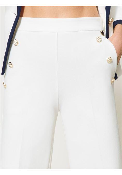 Pantaloni wide fit Twinset | Pantalone | 211TT203106031