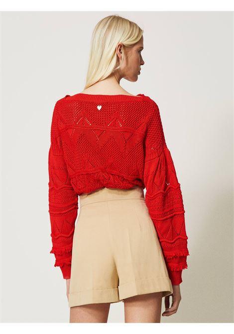 Shorts in gabardine Twinset | Shorts | 211TT207306017