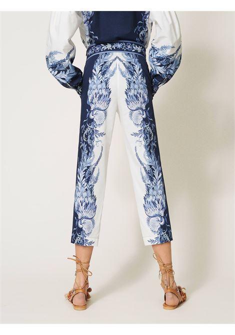 Pantaloni in popeline Twinset | Pantalone | 211TT219006112