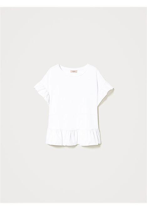 Blusa in jersey di cotone Twinset | Blusa | 211TT240000001