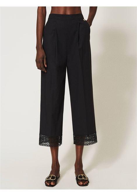 Pantaloni wide fit Twinset | Pantalone | 211TT246600006