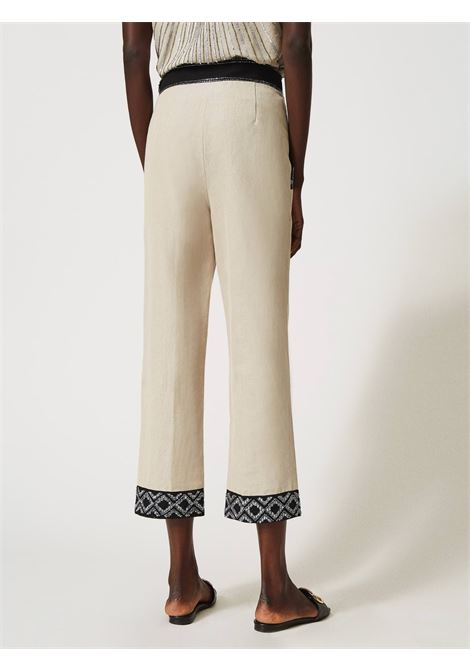 Pantaloni dalla linea diritta Twinset | Pantalone | 211TT261406160