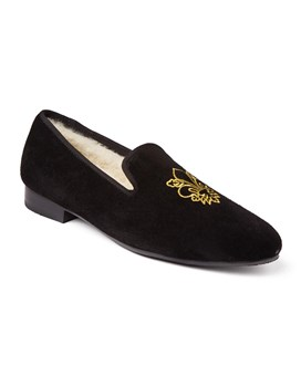Men's Luxury Smoking Slipper  Duke