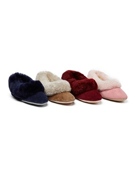 Ladies Sheepskin Slippers Seaforth