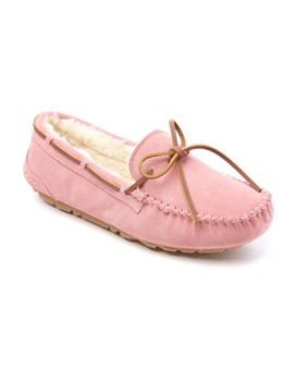 Ladies Sheepskin Moccasin Bea