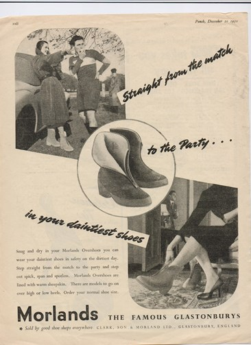 Morlands Overshoes Advert