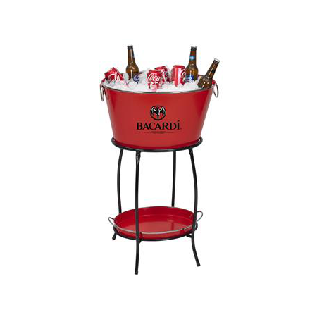 Custom Ice Bucket and Stool