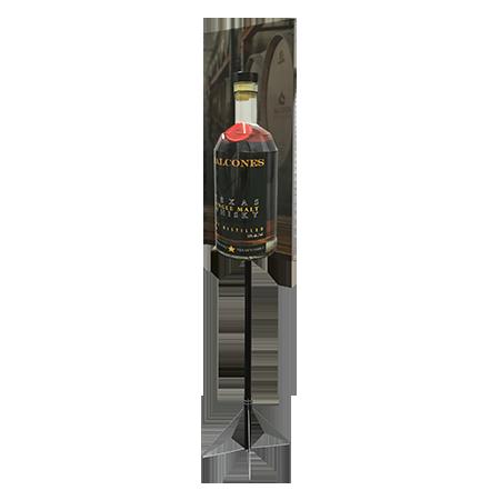 3D Bottle Pole Topper