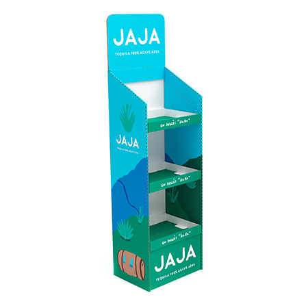JaJa Corrugated Display