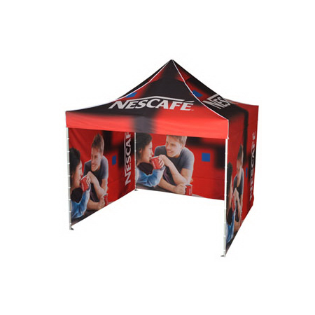 Full Print Dye Sublimation Tent with Drop Down Sides