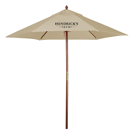 Hendricks Gin Outside Umbrella