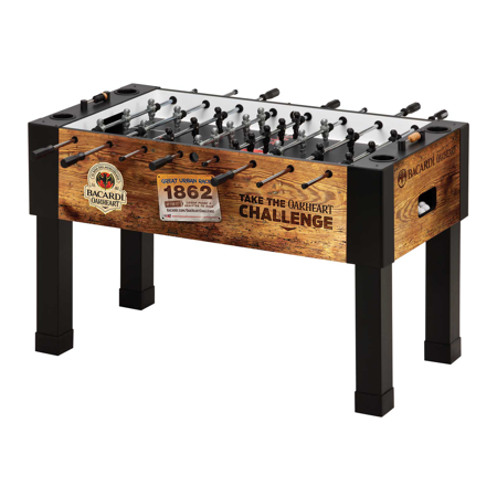 Custom Made Foosball Table with 'Barcardi' Logo