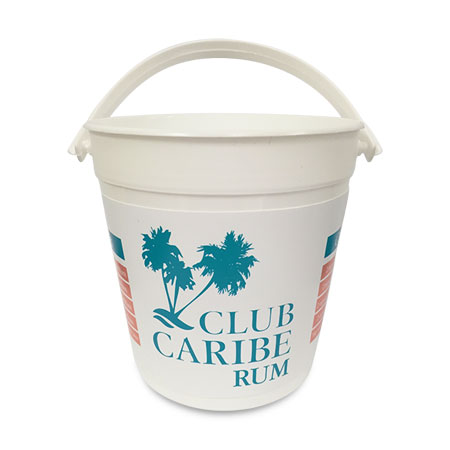 32 oz Plastic Drink Bucket