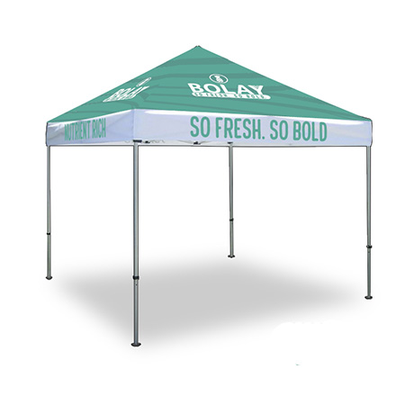 Sublimated Pop-Up Tent