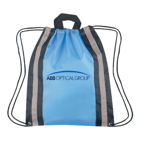reflective cinch bag