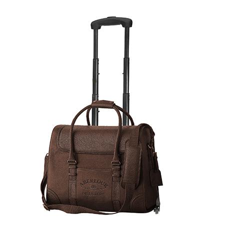 Leather Bottle Carrier Bag