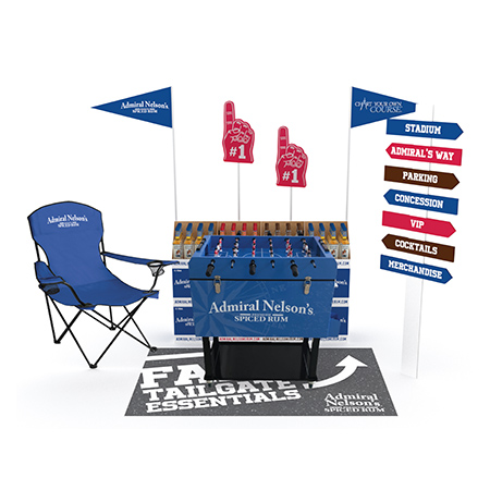 Tailgate Floor Display