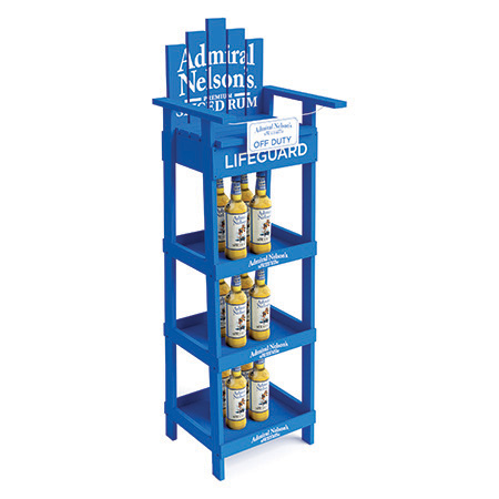 Lifeguard Chair Display Rack
