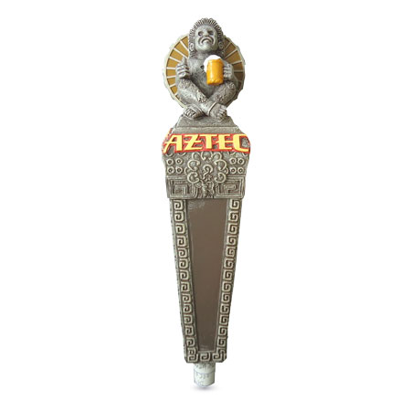 Aztec Brewery Tap Handle