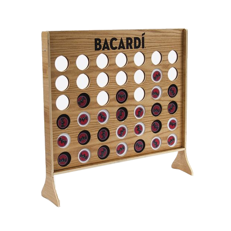 Giant Branded Connect Four Game