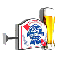 Blue-ribbon-pub-sign-signage