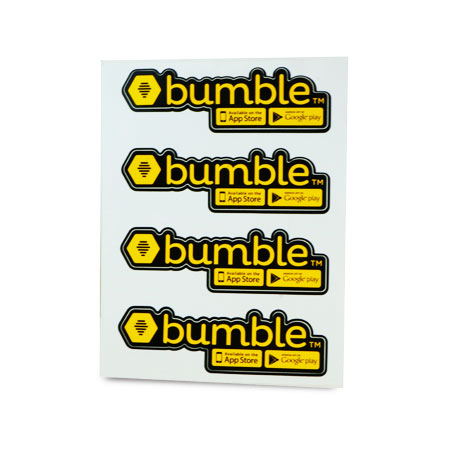 Bumble Custom Stickers