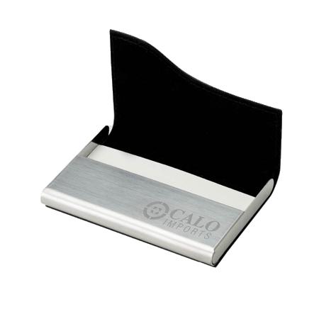 custom metal business card case