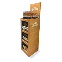 Corona-pop-display-wood-display