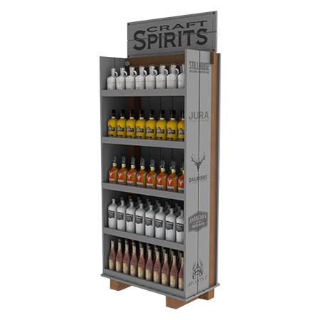 Craft Spirits Floor Display