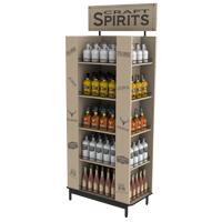 Custom-floor-liquor-display