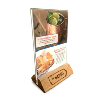 Custom Table Tents Acrylic Table Tents Printed Table Tents - Wooden table tents