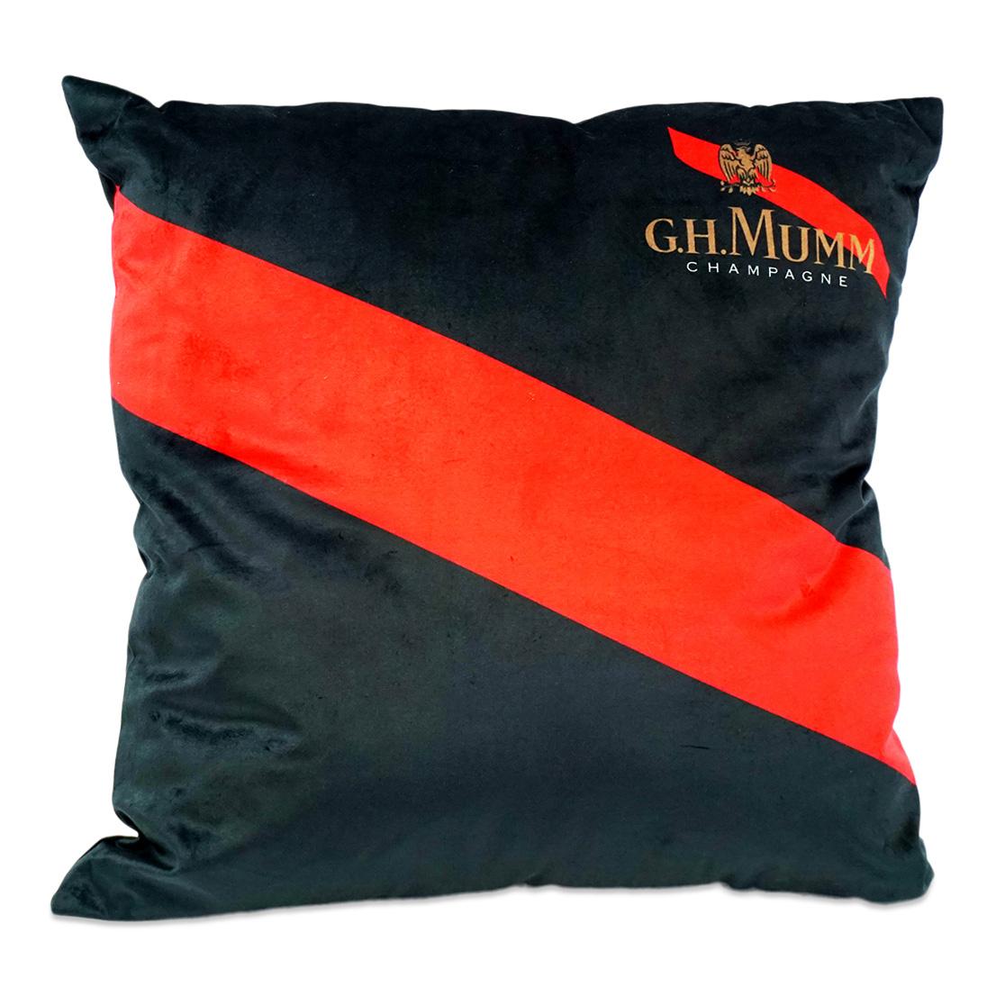 Black Velvet Decor Pillow