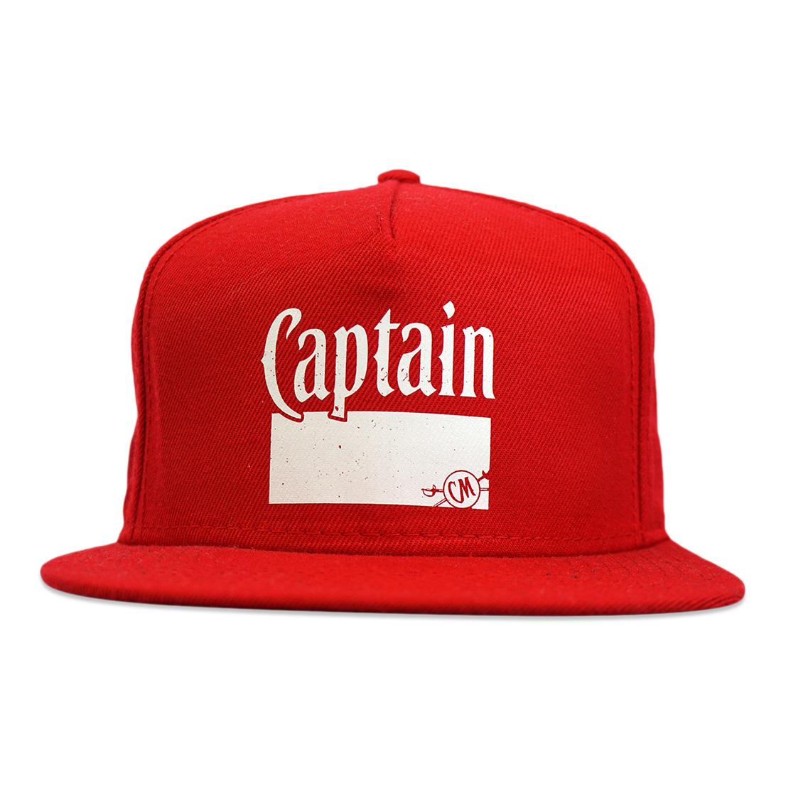 Red Flatbill Cap