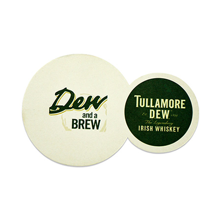 Dual Shot and Drink Coaster