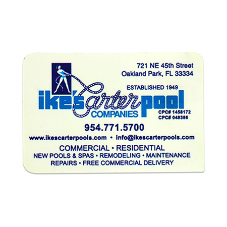 Custom Laminated Business Card