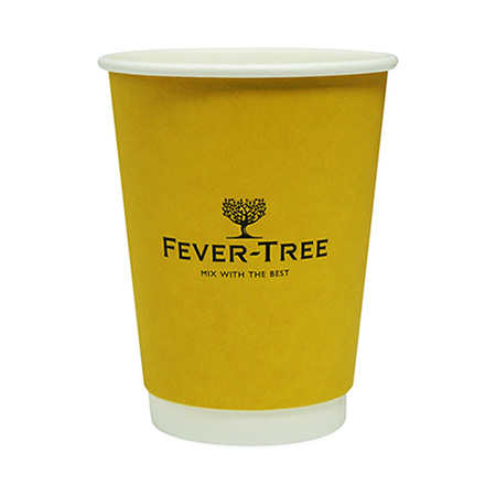 Yellow Disposable Paper Cup