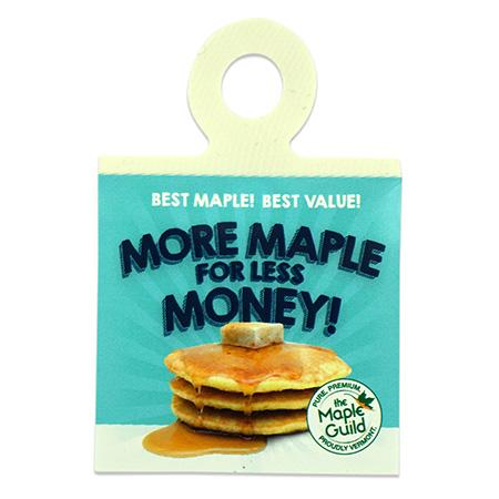 Maple Syrup Promotion Bottlenecker