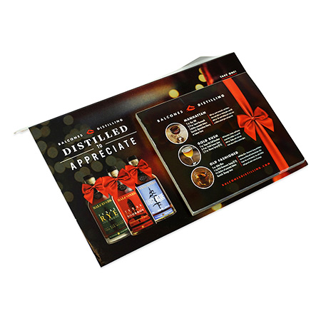 Christmas Promotional Shelf Talker