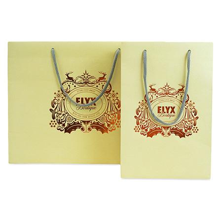 Metallic Embossed Gift Bags