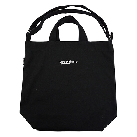 Black Tote Canvas Bag