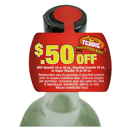 Coupon Bottle Tag
