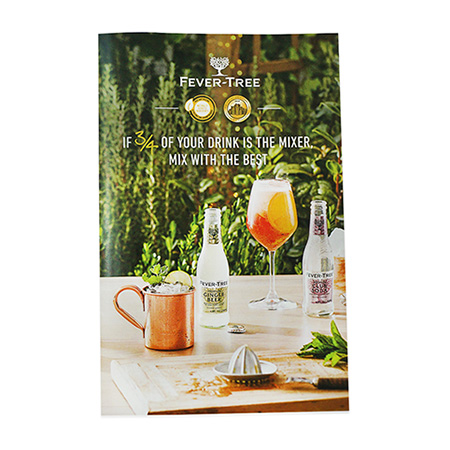 Custom Drink Booklet