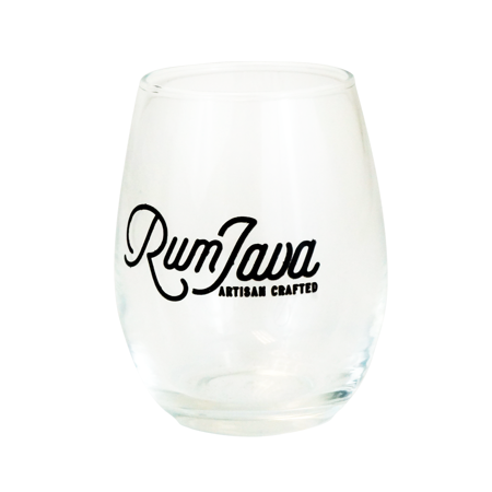 Printed Stemless Wine Glass