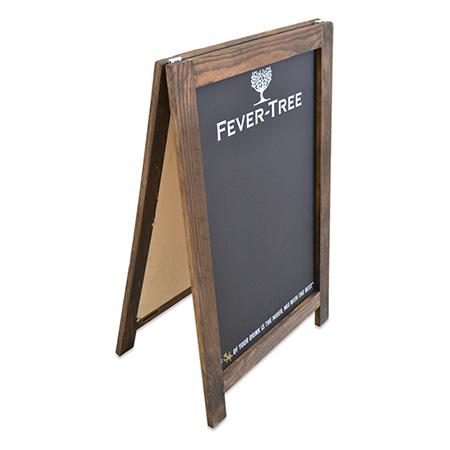 Wood A Frame Chalkboard